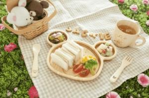 【名入れ/竹食器】ジャッキーランチ&マグセット