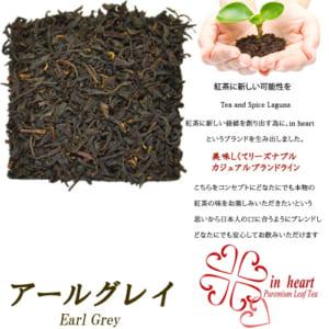『アールグレイ』ティーバッグ20個入 便利なジップ付き袋入り by Tea and Spice Lagun