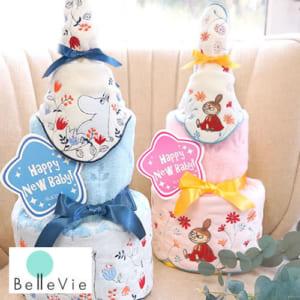 《おむつケーキ》 ムーミン・ミイタオルおむつケーキ【おむつケーキ 出産祝い】 by Belle Vie