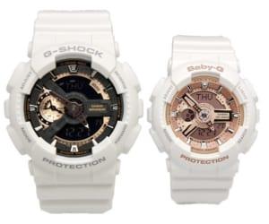 【送料無料】CASIO カシオ G-shock Baby-G 腕時計 ウォッチ ペアウォッチ 2本セット 海外モデル ペアBOX GA-110RG-7ADR BA-110-7A1DR by CAMERON