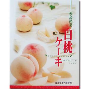 福島銘菓 白桃ケーキ 12個入り
