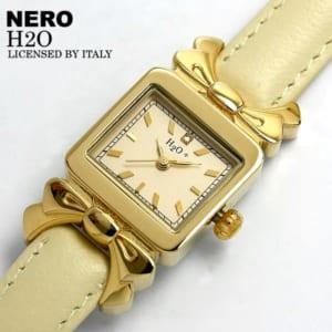 NERO H2O レディース腕時計 レザー レディース 腕時計 レザー かわいい 腕時計 うでどけい レディス by CAMERON