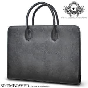 牛革 ビジネスバッグ 鞄 ブラック