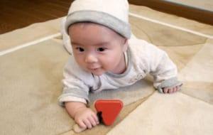 赤ちゃんカスタネット