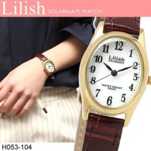 CITIZEN lilish シチズン リリッシュ ソーラー 日常生活防水 レディース 女性用 腕時計 ウォッチ 5気圧防水 H053-104 by CAMERON