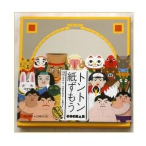 【昔の懐かしい紙相撲セット】
