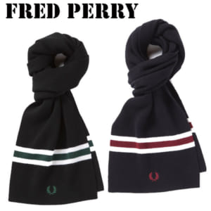 フレッドペリー FRED PERRY マフラー メンズ レディース ローレルリース C7151 by コレカラスタイル