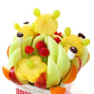 ハッピーキッズBIG フルーツフラワーアレンジメント[ハッピーカラフルーツ]シリーズ フルーツブーケ by ギフトパーク