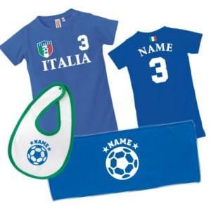 お名前入りサッカー3点セット「イタリア代表」