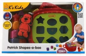 【パトリック シェイプス】ブロック ぬのおもちゃ 知育玩具ケーズキッズのベビーちゃん おもちゃ*出産祝いやギフトにもどうぞ by タオル製ベビー服専門店ハイディ お名前刺繍は25日締め切りです