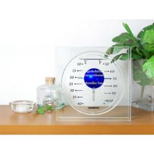 ガリレオ温度計 フロートブルー Lサイズ