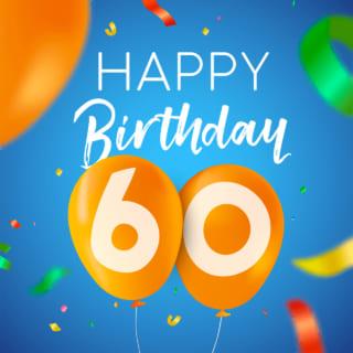 日 誕生 60 歳