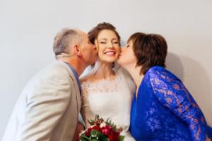 結婚式で両親へ
