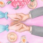 結婚祝いはイラスト付きのプレゼントが人気!似顔絵から名入れまで特別感いっぱいのギフト特集