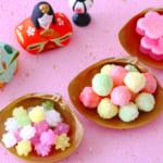 ひな祭りの伝統的なお菓子が丸わかり!3月3日は桃の節句|春を感じる可愛いお菓子25選